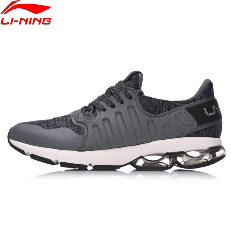 Li Ning Men BUBBLE ARC Cushion Running Shoes Wearable Anti Slippery LiNing Sport Shoes Breathable Sneakers