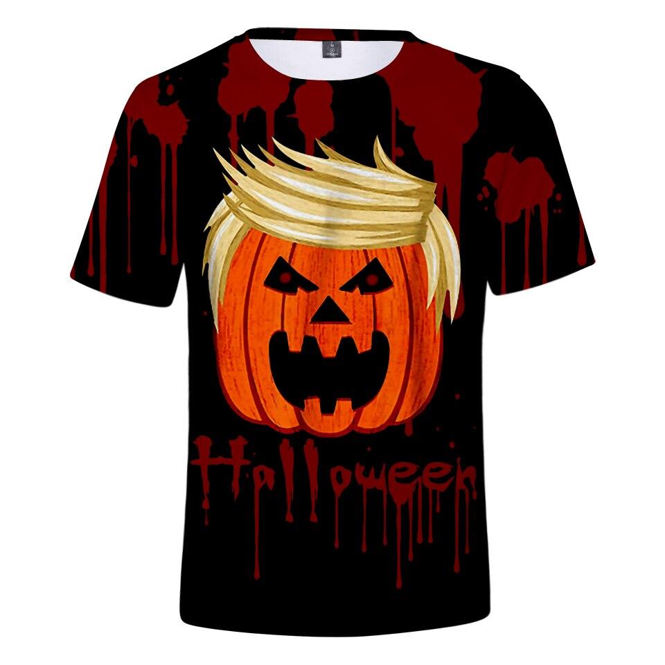 Halloween Suicide Squad 3D Short Sleeve Cool Skull Print T-shirts Print Men/Women Summer TShirts 4XL