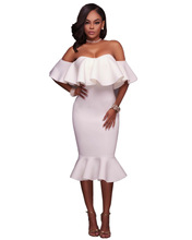 woman dress fashion new  ladies trumped female shoulders butterfly sleeve sexy full womans clothing dresses aesthetic