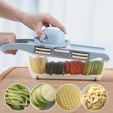 Stainless Steel Multi-function Grater Cutting Device Planing Potato Wire Cutters Ginger  fruit vegetable washing basket