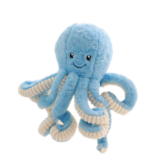40cm Creative Cute Octopus Plush Toys Octopus Whale Dolls & Stuffed Toys Plush Small Pendant Sea Animal Toys Children Baby Gifts