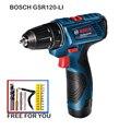 Bosch GSR 120-Li Trapano A Mano 12V Al Litio Trapano di Corrente Domestica Strumento di Cacciavite