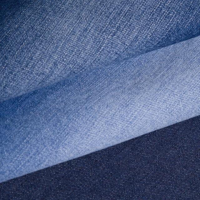 8414b6579f06c Oscuro ventas al contado de 9 onzas de tela slub tejido denim elástico de  cintura de