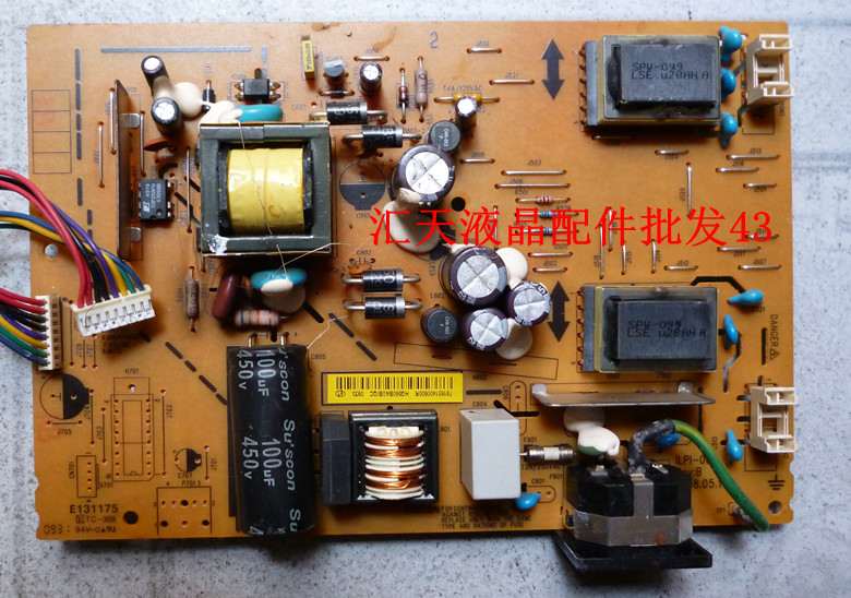 Free Shipping>Original 100% Tested Working M99  190EW9 power board ILPI-068 high-pressure plate LE19C3 free shipping s2031 power board 492001400100r ilpi 182 pressure plate hw191apb original 100% tested working