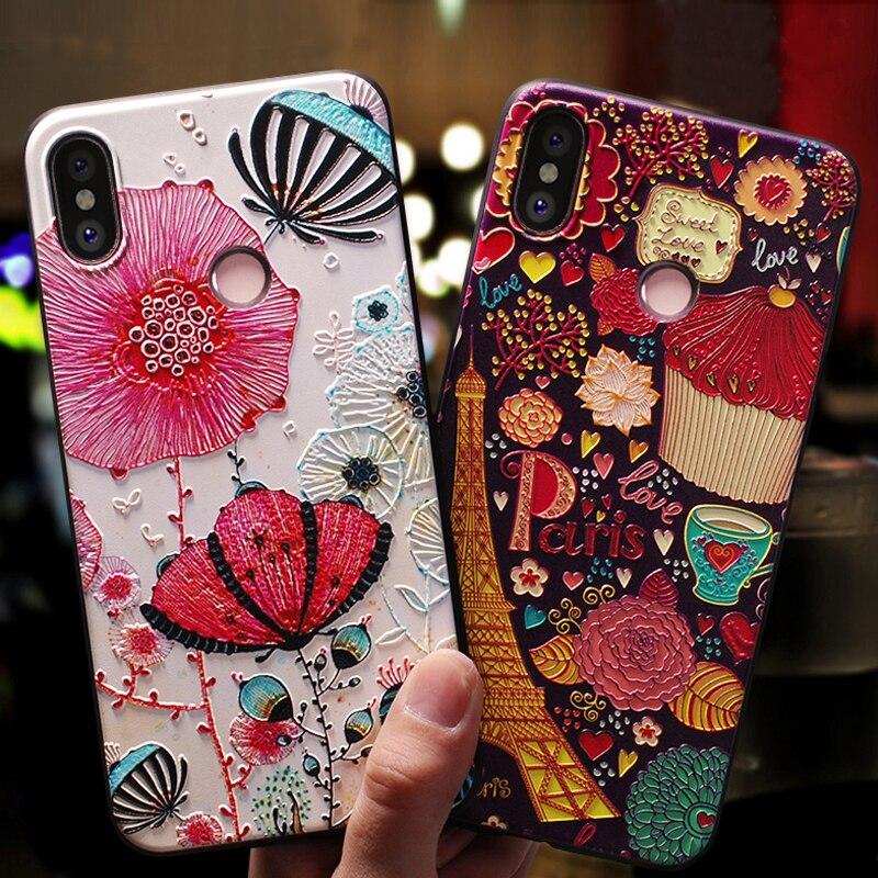 YonLinTan luxury coque,cover,case For Xiomi Xiaomi Mi Max 3 Max3 2018 MI Max 2 Max2 phone back Soft 3D silicone silicon Original