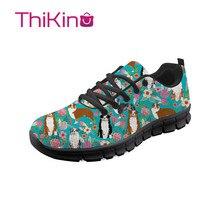 Thikin Germen Shepherd Hard-Wearing Casual Shoes Men Lightweight Breathable Safety Work  Construction Sneaker
