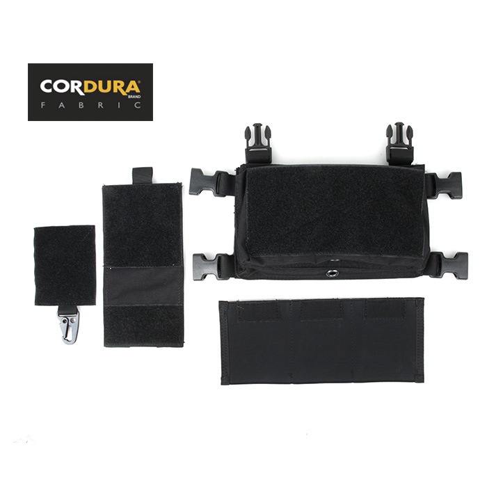 TMC Cordura Front SS Micro Fight Chest Rig Front Chassis Pouch Set(SKU051150)