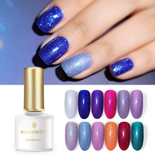 BORN PRETTY Holographic Glitter Gel Nail Polish Soak Off UV Varnish Art Lacquer 6ml Manicure