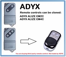 ADYX Garage Door/Gate Universal 4-Channel Remote Control Duplicator 433.92MHz .(only for 433.92mhz fixed code)