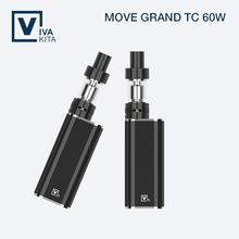 Portable slim design e cigarette 1-60W built in battery vape mods easy to use free shipping