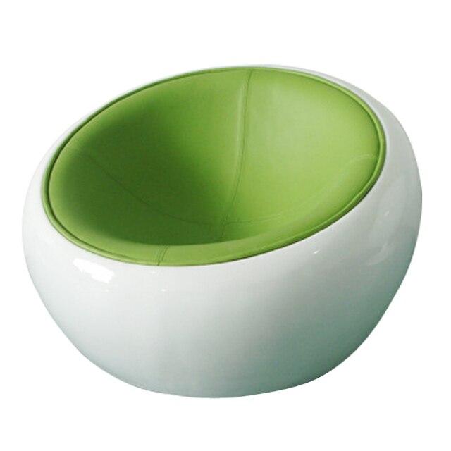 Merveilleux Semi Curved Landing Hemisphere Armchair Semicircle Ball Chair Beanbag Chair  Fiberglass Leisure Rotating Bar