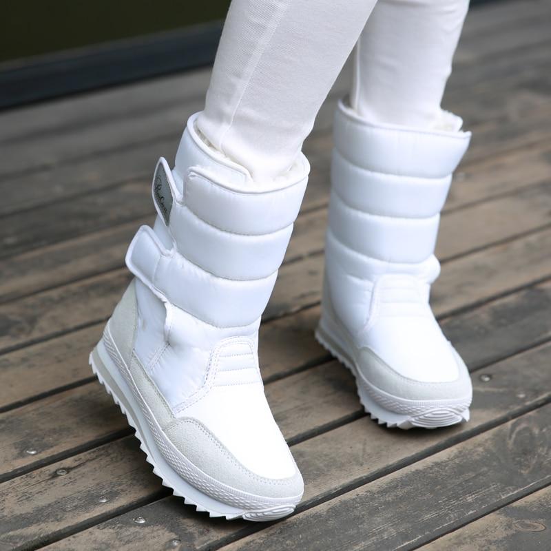 Velours Plus 9 Nouveau Épais Anti 1 Tube ski 2018 5 Chaussures Femmes 4 Neige Courtes 10 8 7 2 Hiver Étanche De Fond 6 Bottes 3 Coton 75qq4O