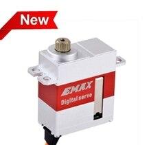 EMAX micro servo moteur spécifique HV rc oscillant rotor queue numérique metal gear servo 6.0 V/7.4 V 3.0/3.5Kgf.cm pour 450 hélicoptère queue