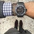 Pulseiras homens mulheres 7mm micro pave zircons casca de coco preto talão pulseira trança pulseira masculina jóias