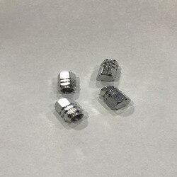 4 sztuk Aluminium ze stopu metali zawór czapka opon dekoracyjne Anti pyłu koła dysza powietrza osłona pyłoszczelna Auto samochód stylizacji akcesoria