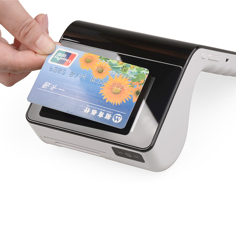 touch screen credit card machine