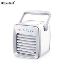 Портативный испарительный охладитель воздуха персональный настольный USB Перезаряжаемый вентилятор 12 в автомобильный Кондиционер мини-вентилятор Climatiseur Ventiladores
