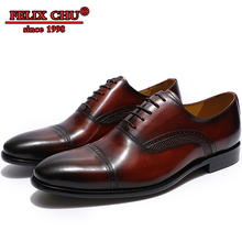 2019 Genuine Leather Men Dress Shoes Pointed Toe Lace Up Comfortable Men Oxfords Shoes Business Office Formal Wedding Shoes Male цены онлайн