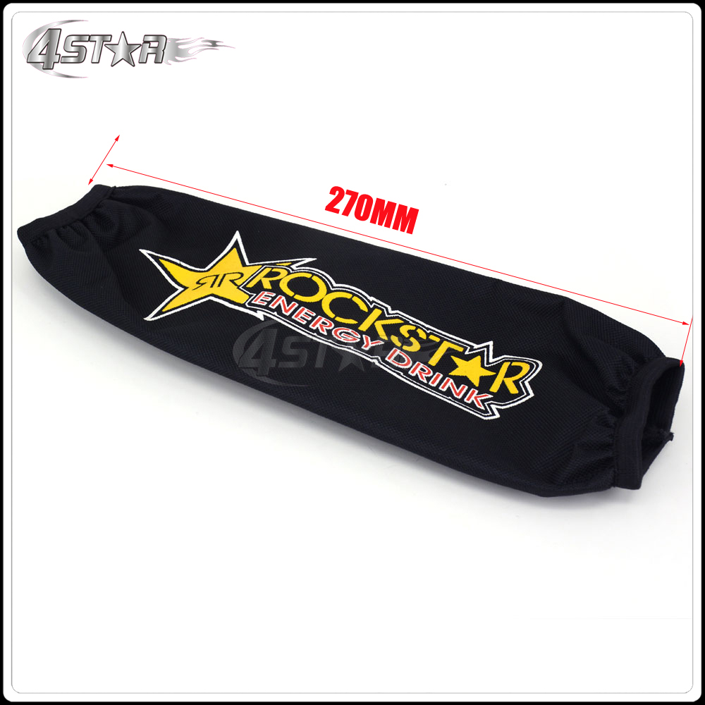 27cm Rear Shock absorber suspension Protector protection cover for CR TTR 50 80 110 Pit Dirt Bike motorcycle ATV Quad Motocross 27cm rear shock absorber suspension protector protection cover for cr ttr 50 80 110 pit dirt bike motorcycle atv quad motocross