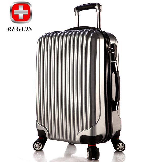 RS Commercial Travel Bag Trolley luggage ,High Quality 20/24/26/28'' Travel Suitcase, Universal wheel Aluminium Alloy Rod Trolle