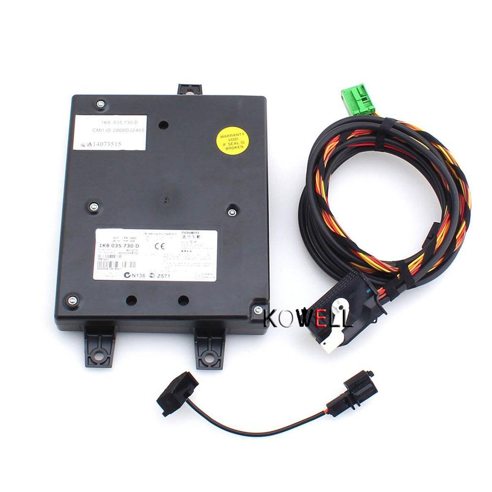 9W2 Module Bluetooth + Harnais Avec Microphone + CableLline 1K8035730D For Jetta Passat B6 VW RCD510 Golf MK6 VI MK5 MKV
