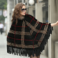 Real Fur Shawls Poncho For Women Fashion Ladies New 2016 New Luxury Genuine Mink Fur Shawls Winter Knitted Scarves