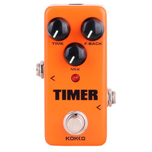 Hot FDD2 Timer Delay Electric Guitar Pedal de Alta Calidad Portatil Guitarra Effects For Musical Instruments Parts Accessories