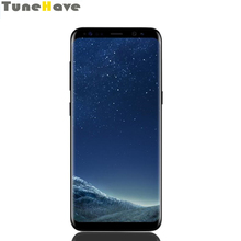 Débloqué Samsung Galaxy S8 5.8 « 4 GB RAM 64 GB ROM Octa Core 4G LTE Android empreinte digitale 3000 mAh 12MP simple/double sim Smartphone