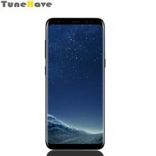 Samsung – Smartphone Galaxy S8/ S8 Plus débloqué, téléphone portable, 4 go de RAM, 64 go de ROM, 4G LTE, Android, simple/double sim, empreinte digitale, 12mp