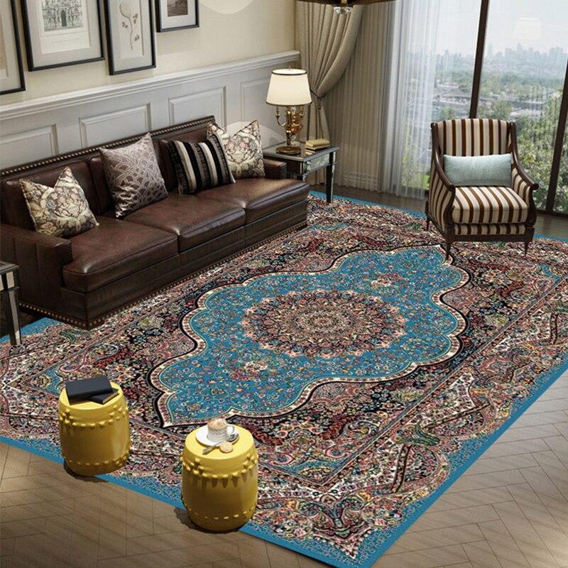 Nouveaux tapis persans pour salon décoration de la maison 100% polypropylène tapis chambre Table chaise tapis étude chambre tapis tapis de sol tapis