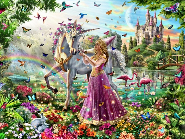 3D Diamond Embroidery Princess and horse Needlework Diamond Mosaic Pictures Of Rhinestones Hobbies And Crafts Accessories