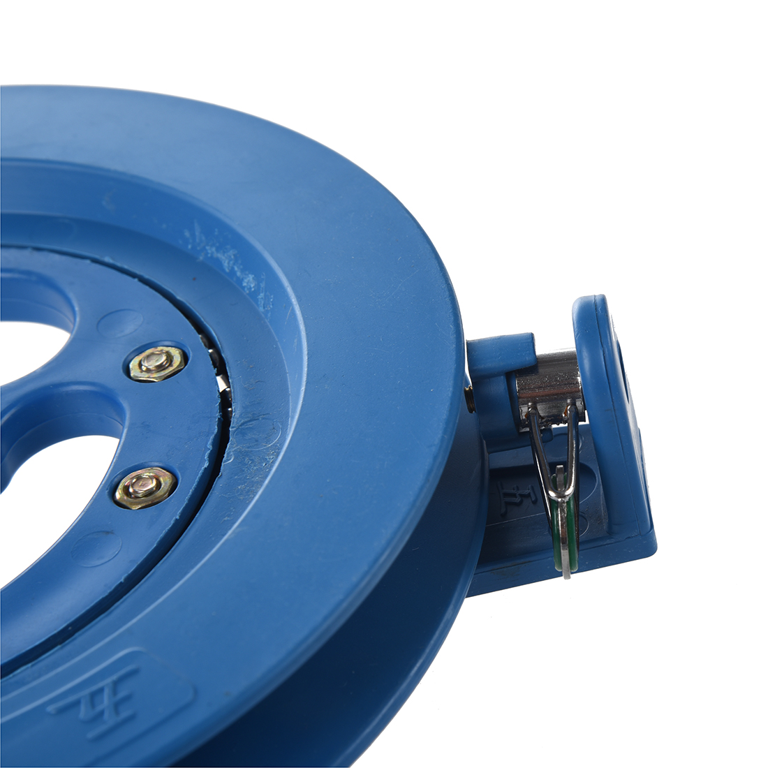 New-Blue-Outdoor-Kite-Tool-Ballbearing-Blue-Plastic-Reel-Line-Winder-3