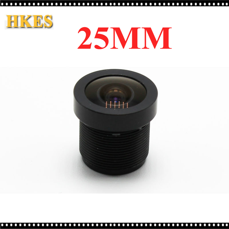 25mm CCTV Board MTV lens M12 0 5 wide viewing angle 12degree suitable for 1 3