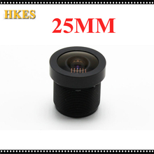 25mm CCTV Board MTV lens,M12*0.5, wide viewing angle 12degree, suitable for 1/3″ & 1/4″ cctv camera sensor