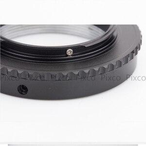 Image 4 - Pixco L/M39 M4/3 adapter obiektywu garnitur dla Leica M39 obiektywu, aby garnitur dla mikro cztery trzecie 4/3 kamery