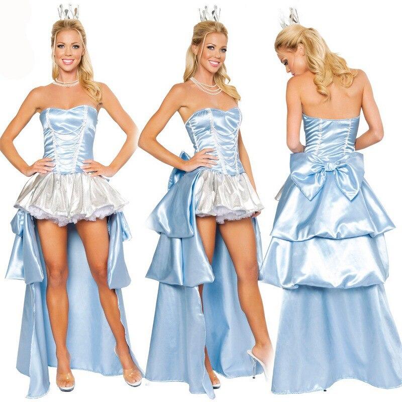 Snow White Fairytale Fancy Dress ladies Adult Womens Costume