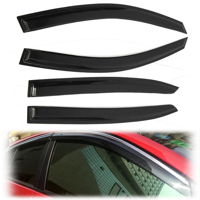 Car Window Visor Vent Deflector Rain Shade Shelter for Honda/Accord 9TH 2013-2016