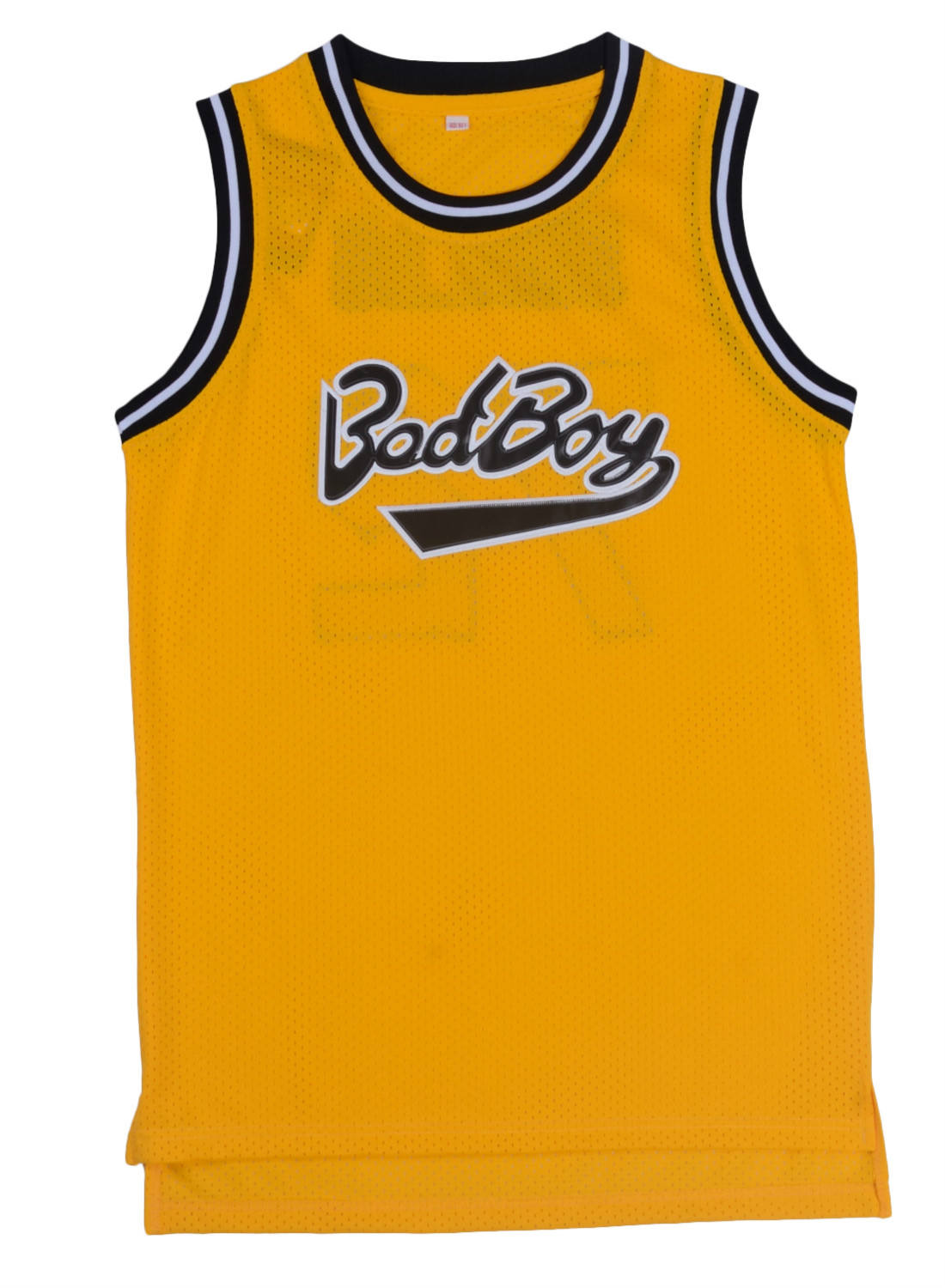 ee8d31883 Yellow Black Basketball Jersey Bad Boy Movie Basketball T shirts Cool Sport  Jersey Breathable Stitched Jersey Men Classic Jersey-in Basketball Jerseys  from ...