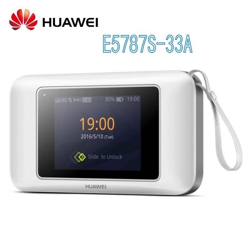 Débloqué Huawei E5787S-33A 300 mbps 4g lte routeur Cat6 WiFi Routeur avec SIM card slot E5787 hotspot