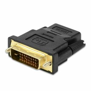 Image 2 - Ale, aby hdmi dla kobiety do DVI kabel konwertera DVI 24 + 1 na adapter hdmi dla Monitor projektor hdtv