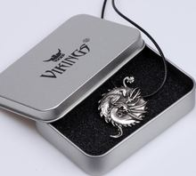 Ожерелье с подвеской в виде дракона Инь Янь талисман китайский