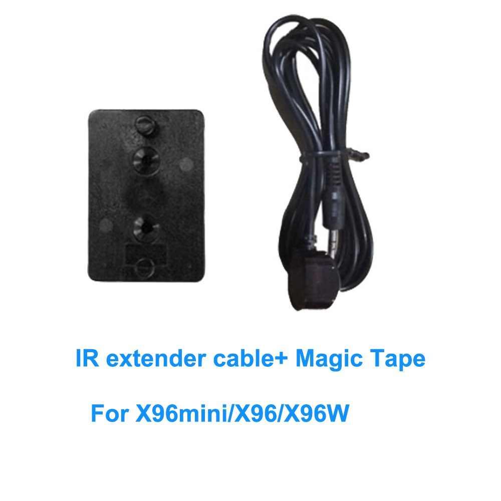 Extender IR sur HDMI adaptateurs de télécommande récepteur Kit de câble émetteur appliqué à X96 mini/X96/X96W android smart tv box