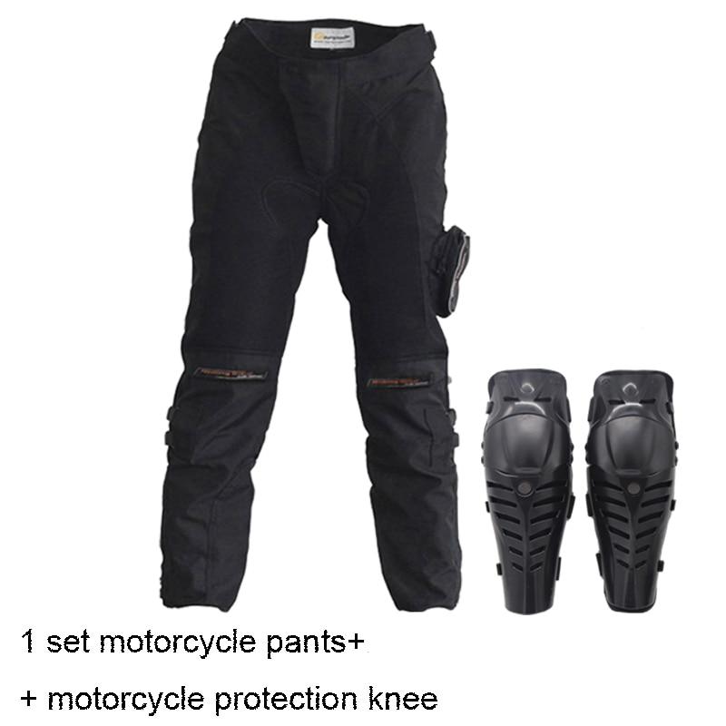 Motorcycle Pants Motorbike Knee Protective Pants Trousers Moto Pants Protective Gear motorcycle protection knee+motorcycle pants free shipping 1pcs motorcycle biker distressed pants denim trousers protection pads