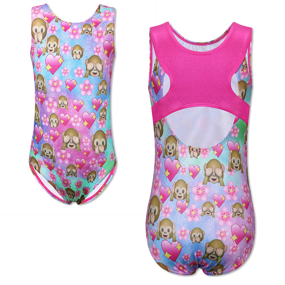 Rational Baohulu Cute Sleeveless Leotards For Girls Shiny Ballet Gymnastics Leotard Dance Costume Tank Show Stage Costume Child Shrink-Proof Ballet Novelty & Special Use
