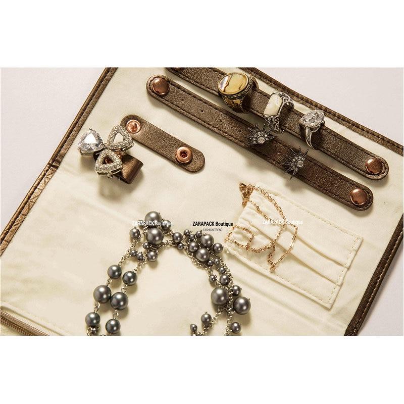 Aliexpresscom Buy Designer Luxury leatherette Jewelry Roll