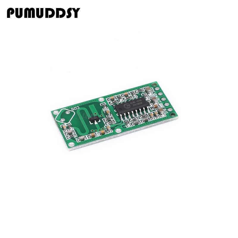 5 piezas RCWL-0516 RCWL 0516 Sensor de Radar de microondas Sensor de cuerpo humano Módulo de interruptor de inducción módulo de salida 3,3 V