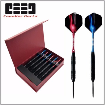 6pcs Steel Tips Darts Free Box 23g Shafts Flight Harrow Point Wing Barrel Throwing Darts Accessories Professional Darts Flight