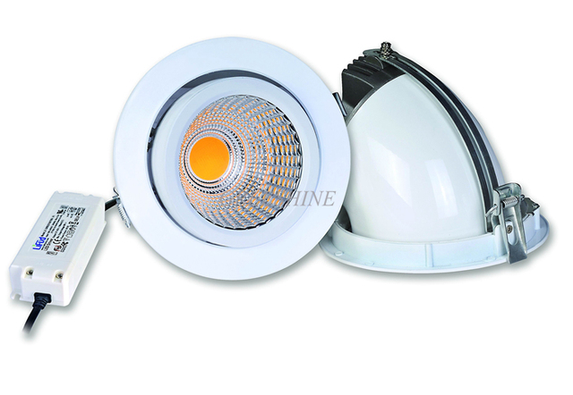 Gimbal cob 15w led downlight dimmable recessed ceiling led lights gimbal cob 15w led downlight dimmable recessed ceiling led lights whiteblacksilver body aloadofball Image collections