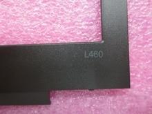 New Original Bezel For Lenovo ThinkPad L460 LCD Bezel Front Frame Cover Case 01AV941 AP108000400 цена 2017