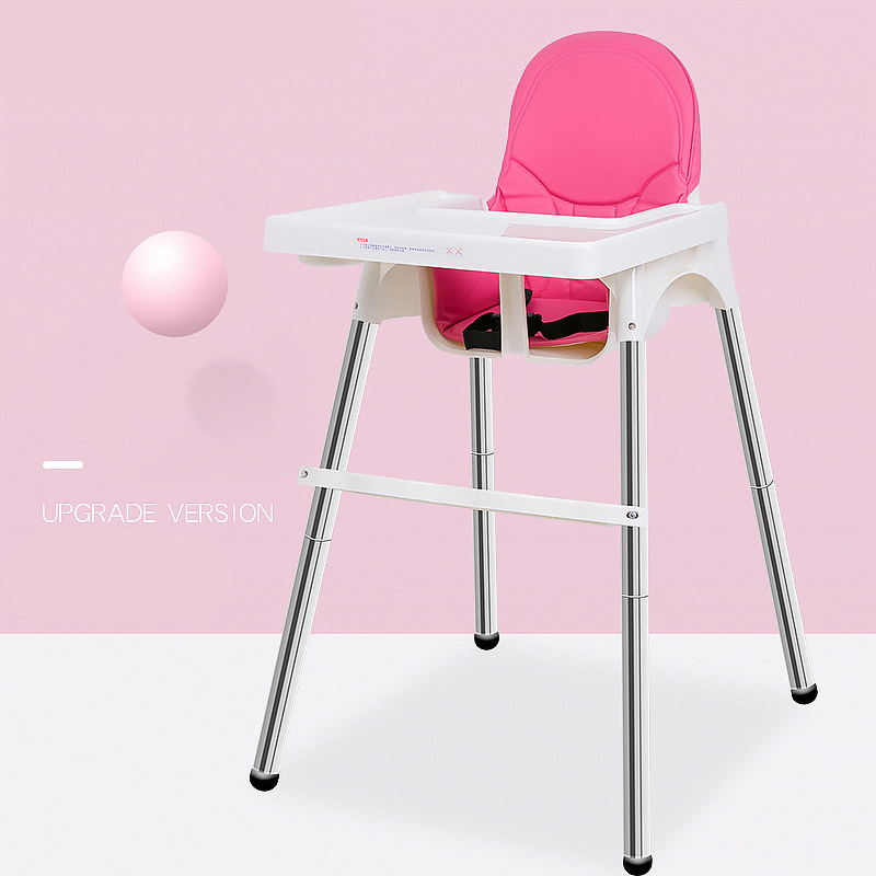 chairs for babies bedroom chair pink pu leather high adjustable baby portable feeding seating by dining in booster seats from mother kids on aliexpress com